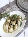 牡蠣のシンプル蒸し