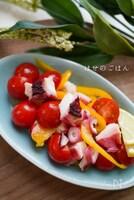 さっぱり副菜♪たことプチトマトのマリネ♪♪