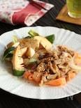 豚のしょうが焼き 春野菜のグリル添え