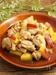チキンと薩摩芋のカレー風味ソテー