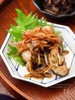 牡蠣のしぐれ煮。