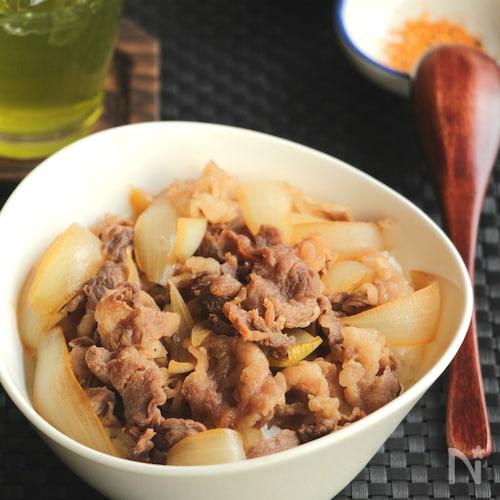 【基本の和食】牛丼(動画あり)