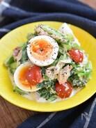 小松菜と卵のデリ風サラダ