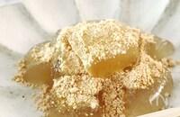 ダイエット中もOK【レンジで2分】超低カロ♡オオバコわらび餅
