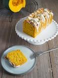 【簡単】小麦粉バターなし。かぼちゃオートミールパウンドケーキ