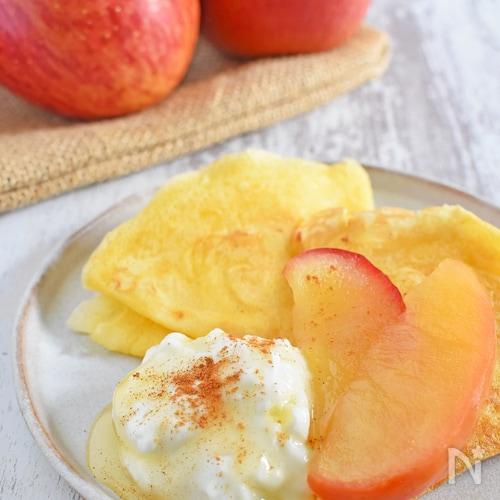 簡単!りんごのコンポート(レンジ加熱)
