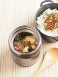 くずし豆腐のとろみ牛丼
