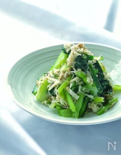 ツナ レシピ 小松菜 小松菜とツナの人気レシピ!炒め物やおひたしが簡単!パスタもおすすめ