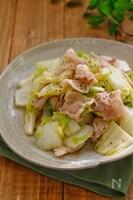 *白菜と豚バラの旨塩にんにく炒め*