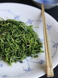 えごま油で作る豆苗のナムル
