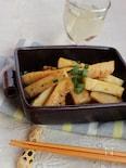 タケノコと大和芋の味噌炒め