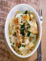 【サク飯】タケノコ水煮のバター醤油チーズ焼き