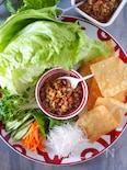 【レタス1玉大量消費】アレンジ万能レンジ肉味噌レタス巻き