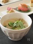 焼き葱と大根のスープ