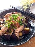 なすはレンチン時短レシピ♡なすと豚ばらのポン酢マヨソテー