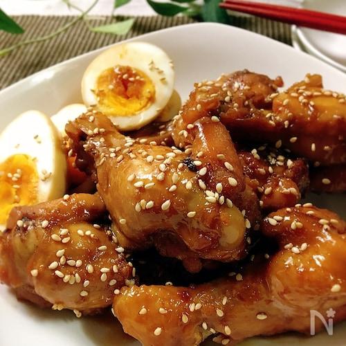 こっくり・濃厚☆鶏手羽元の甘辛煮