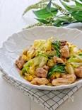*鶏肉と春キャベツの絶品マヨ炒め*