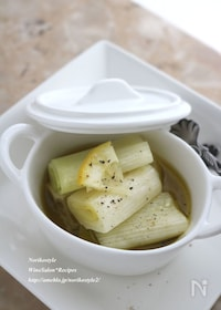 『とろんとろん長葱のオイル煮』