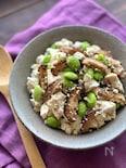甘辛しいたけと豆腐のお惣菜【作り置き】