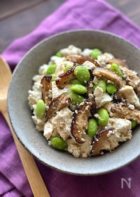 『甘辛しいたけと豆腐のお惣菜【作り置き】』