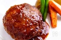 【肉汁たっぷりジューシーハンバーグ】簡単なのに本格派♬︎