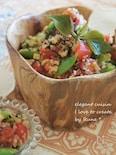 キノア・レモントマト&春野菜サラダ