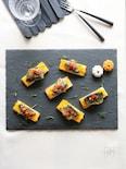秋刀魚のローズマリーソテー かぼちゃのピューレと共に