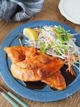 ガツンとごはんがすすむ。ささみのガリバタステーキ【簡単・節約