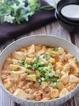 今食べなきゃ損!丼にしても美味しい♡コロコロ筍入り麻婆豆腐