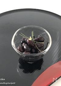 『<おせち>に。炊飯器de簡単♡ふっくら黒豆』