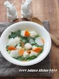 とろける鶏団子とかぶのぽかぽかスープ