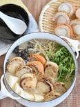 ほたての豆乳味噌バター鍋