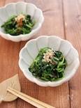 春菊の香り炒め♪パパッとあと一品!炒め物レシピ