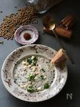 お手軽♪ほっこり♪お豆のスープ