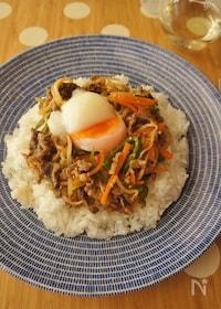 『スタミナ満点☆プルコギ丼』