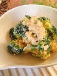おかずサラダ♪ブロッコリーとゆで卵の粒マスタードサラダ