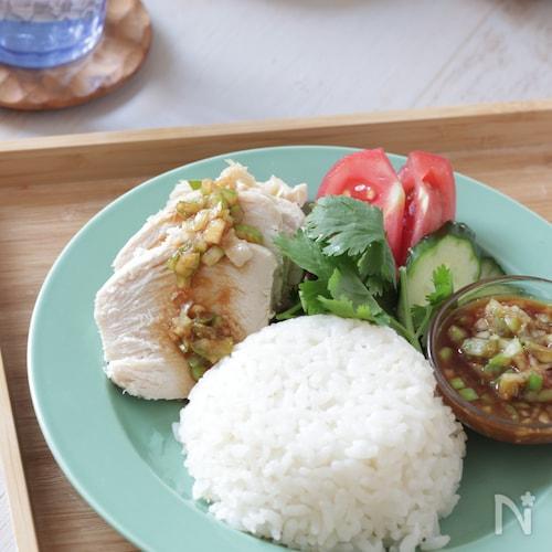 【下味調理】【下味保存】おうちで簡単タイ料理♪カオマンガイ