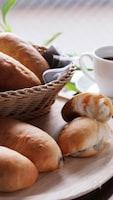 口溶けのよいふんわり食感の♡レーズンミルクスティックパン