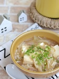 ツナと豆腐のスタミナとろみスープ鍋