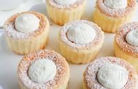 ホイップたっぷり♪生シフォンケーキ