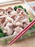 レンジで作る豚しゃぶサラダ
