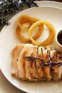 鶏むね肉の簡単ローストチキン
