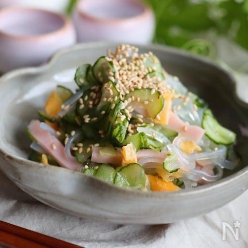 ダイエット中でも満足♡春雨サラダ♡