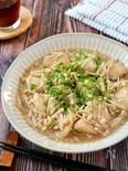 コスパ最強♪柔らか鶏むね肉とえのきのさっぱりコク旨バタポン煮