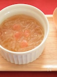 大根と梅干しのコンソメスープ