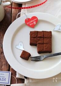 『レンジで生チョコ』