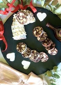 『チョコレートサラミ【甘いもの苦手な男性にも大人気】』