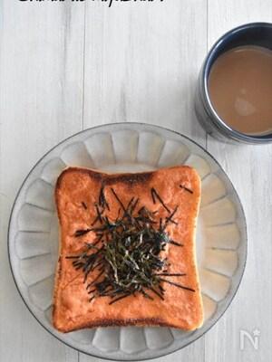 冷凍作り置きトースト~明太マヨトースト