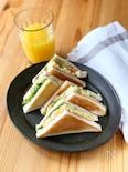 卵とレタスのトーストサンド