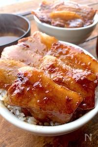 北海道十勝帯広名物を再現〝絶品豚丼〟